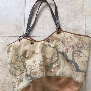 Lucky Brand Cherry Blossom Bag